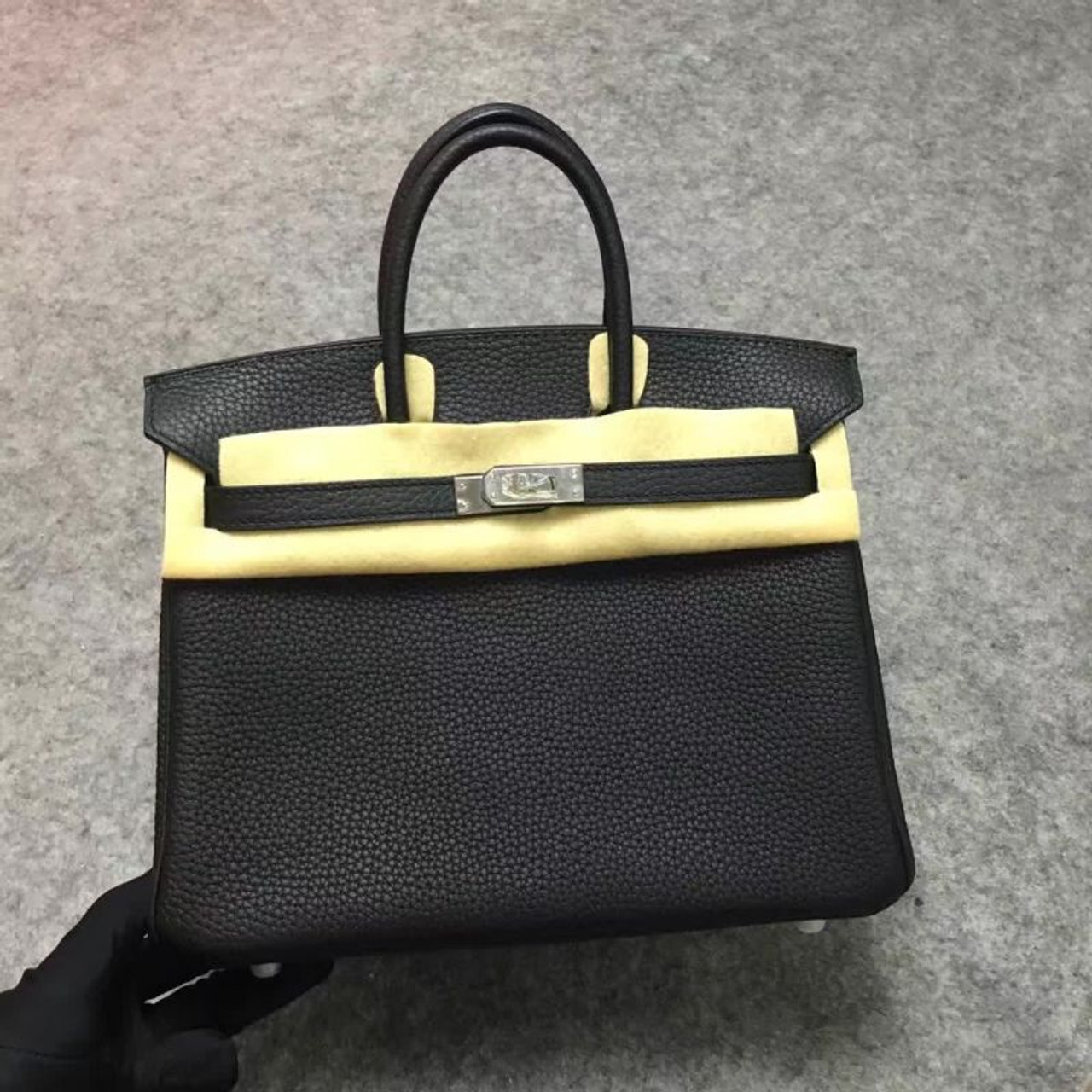 64ee9062b4a7 Hermès Birkin 35 cm Togo Leather Palladium Hardware - Bella Vita Moda