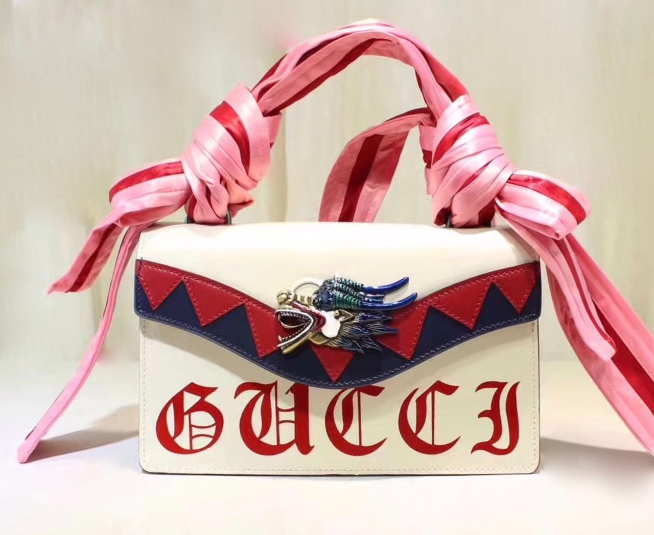 d9a35e7161 Gucci 2018 Osiride leather top handle bag - Bella Vita Moda