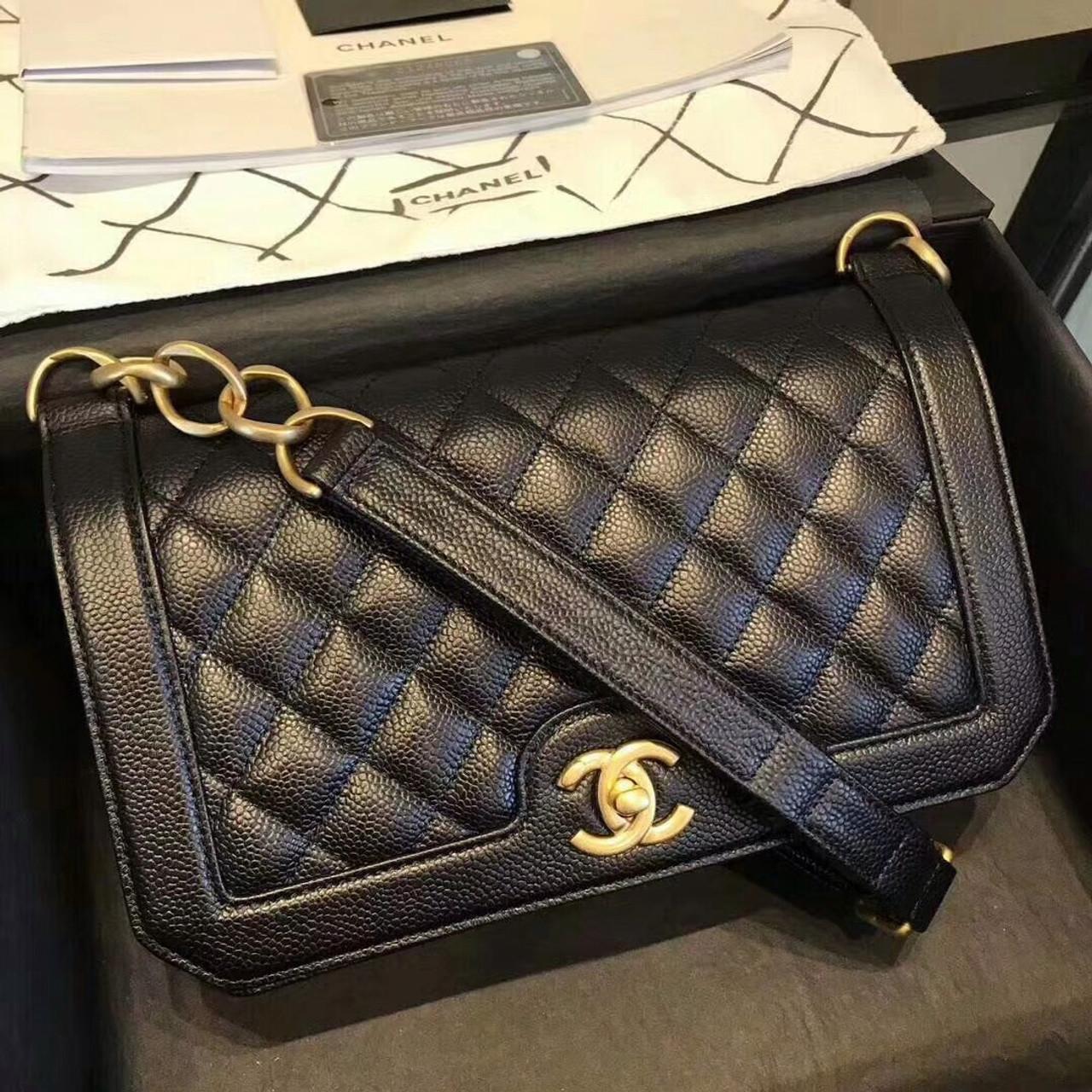 7444e3e2dede Chanel Flap Bag Black A91576 - Bella Vita Moda