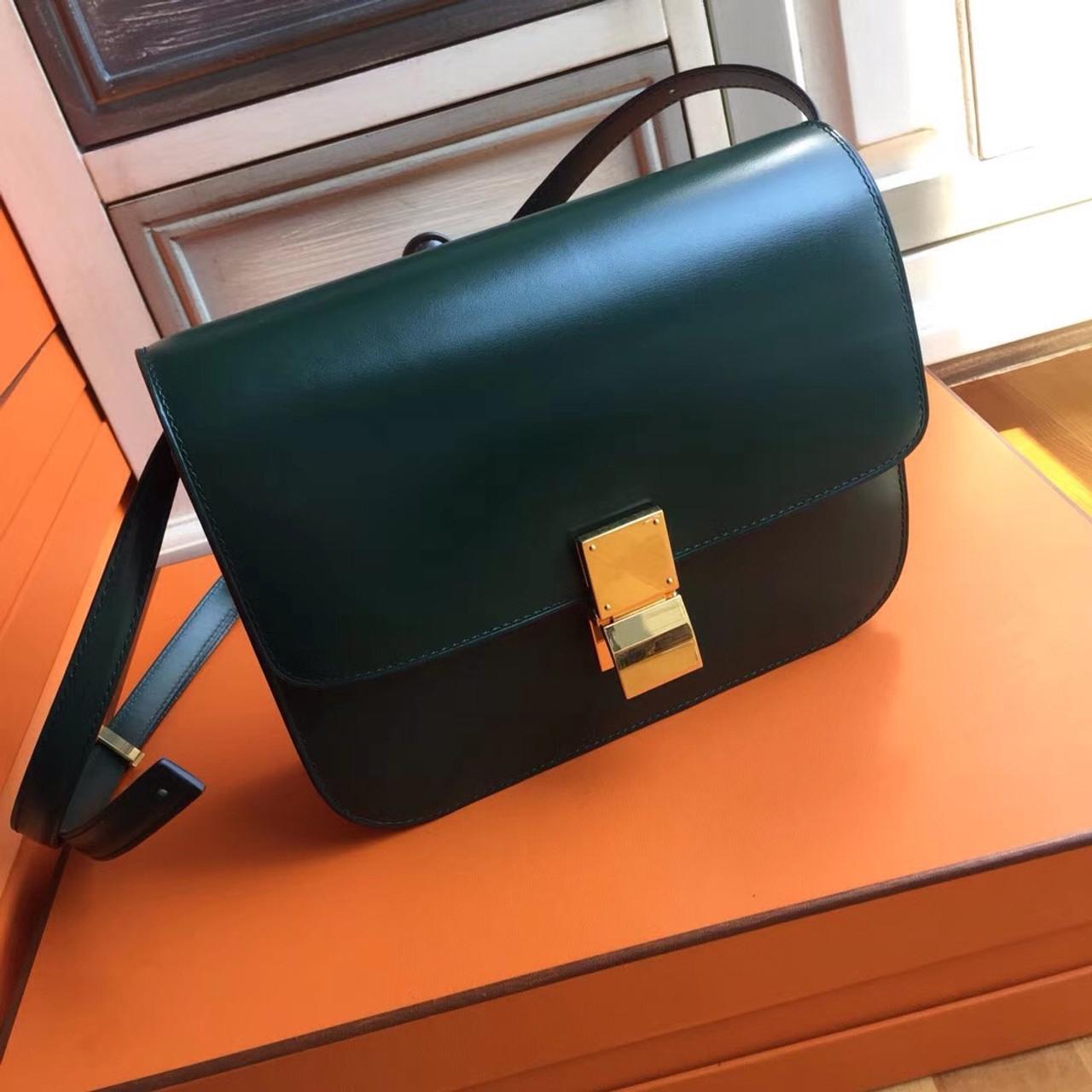 a18e1ca34 Celine MEDIUM CLASSIC BAG IN BOX CALFSKIN AMAZON - Bella Vita Moda
