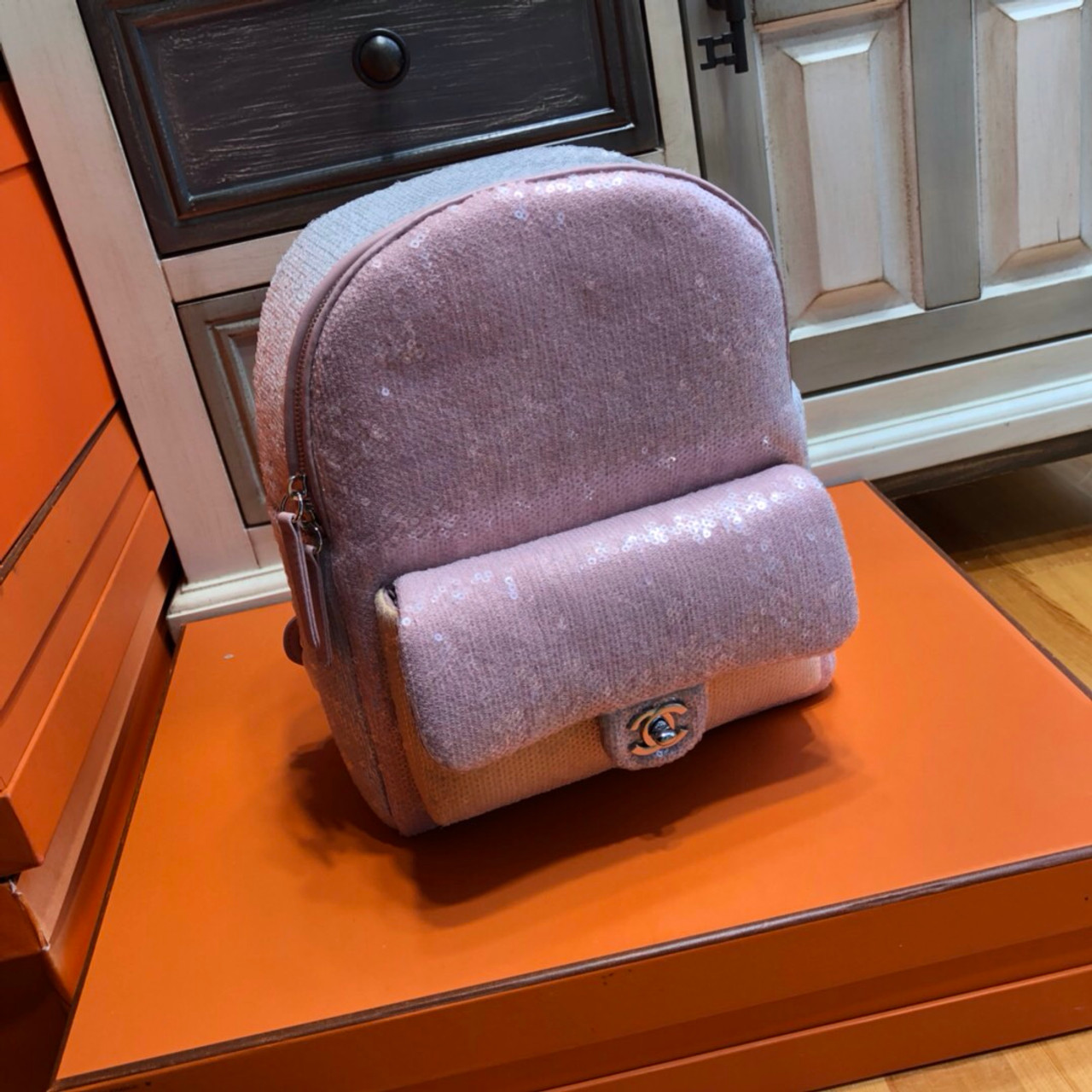 Chanel 2018 Sequins Backpack - Bella Vita Moda f0db3a13b9131