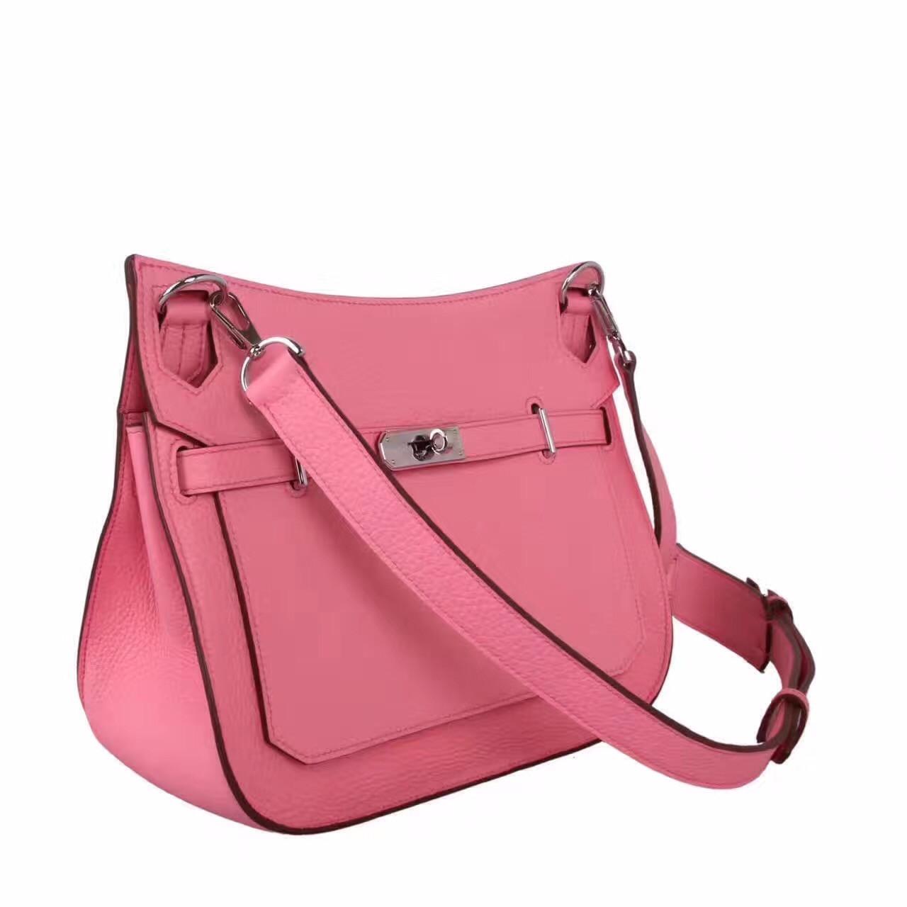6aedab9ea47b4 Hermes Rose Sakura Jypsiere 28 bag - Bella Vita Moda