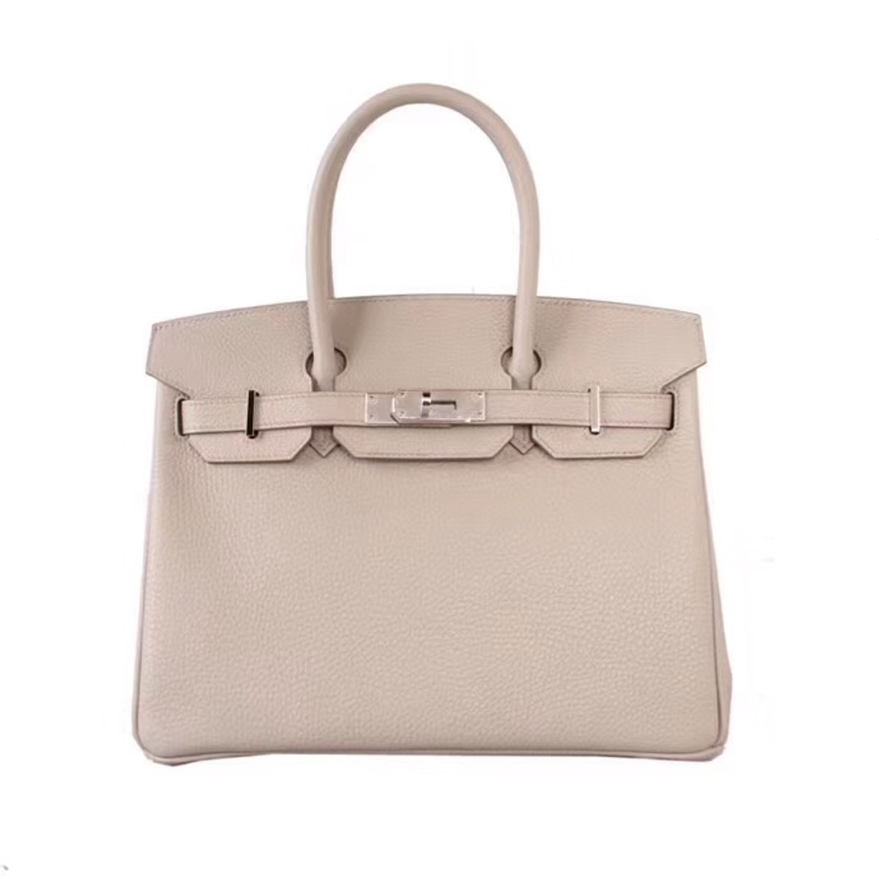 7377e943978 Hermès 80 Gris Perle Birkin 30 cm Togo Leather Palladium Hardware ...