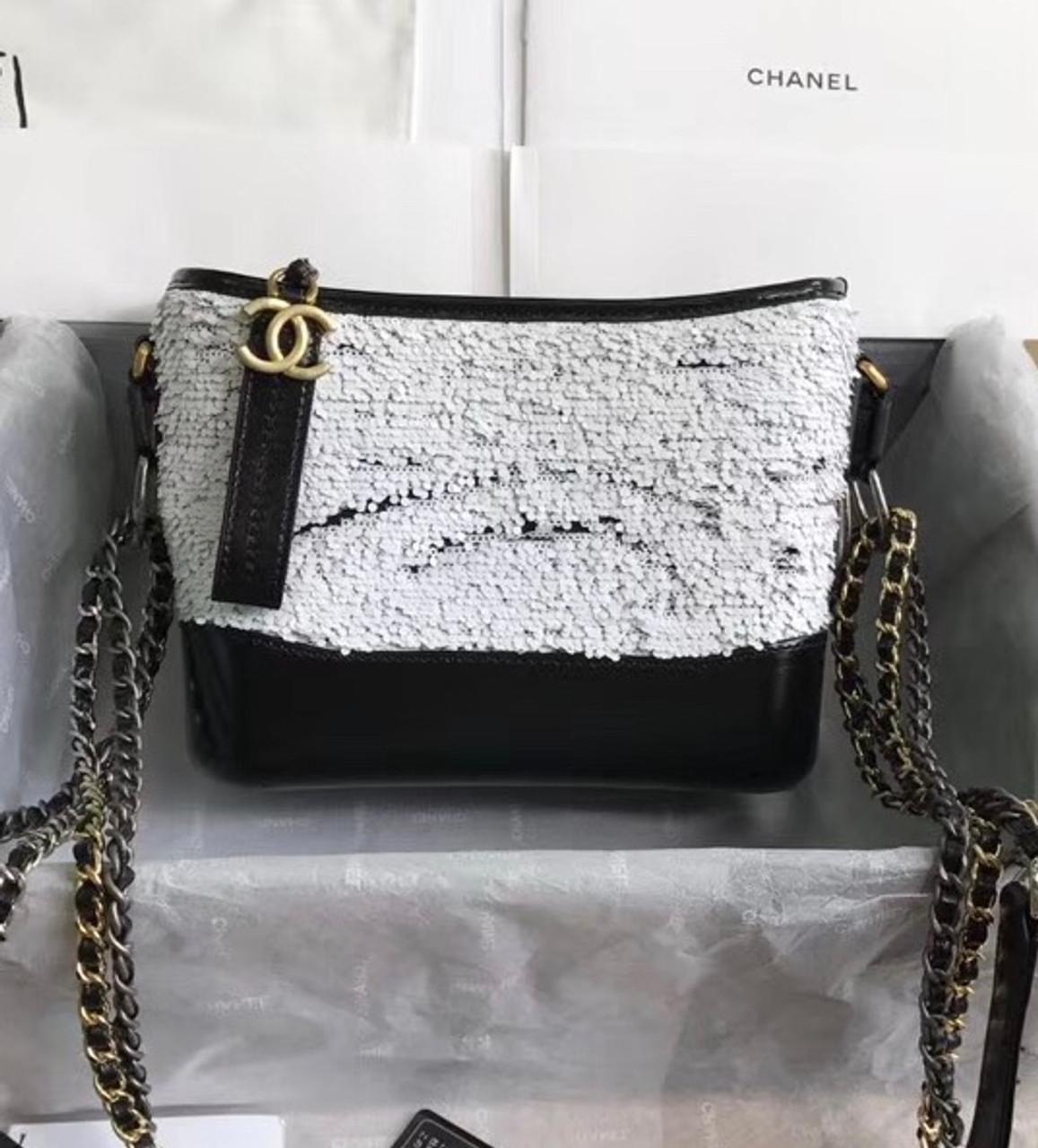 ca72fefa8f86b3 Chanel's Gabrielle Small Sequins Hobo Bag A91810 - Bella Vita Moda