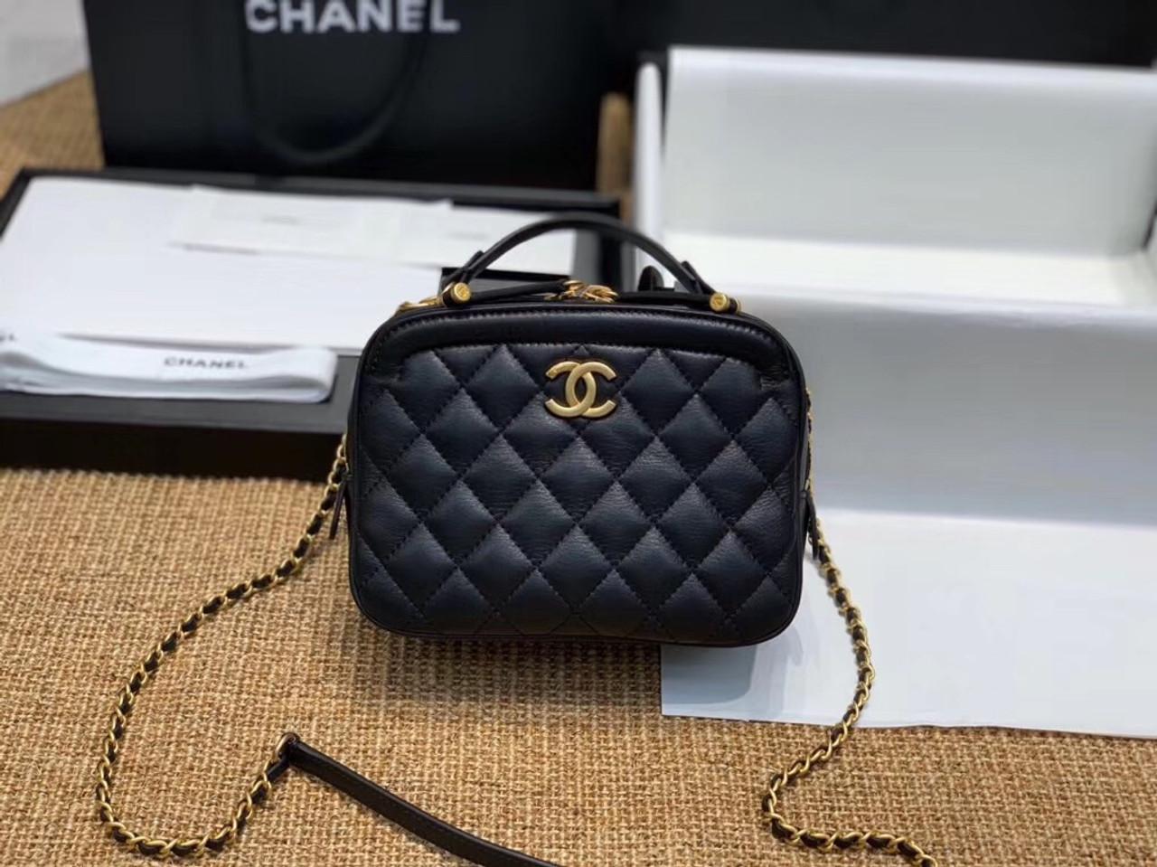 cf8cefa260cf8f Chanel Vanity Case Black A57950 - Bella Vita Moda