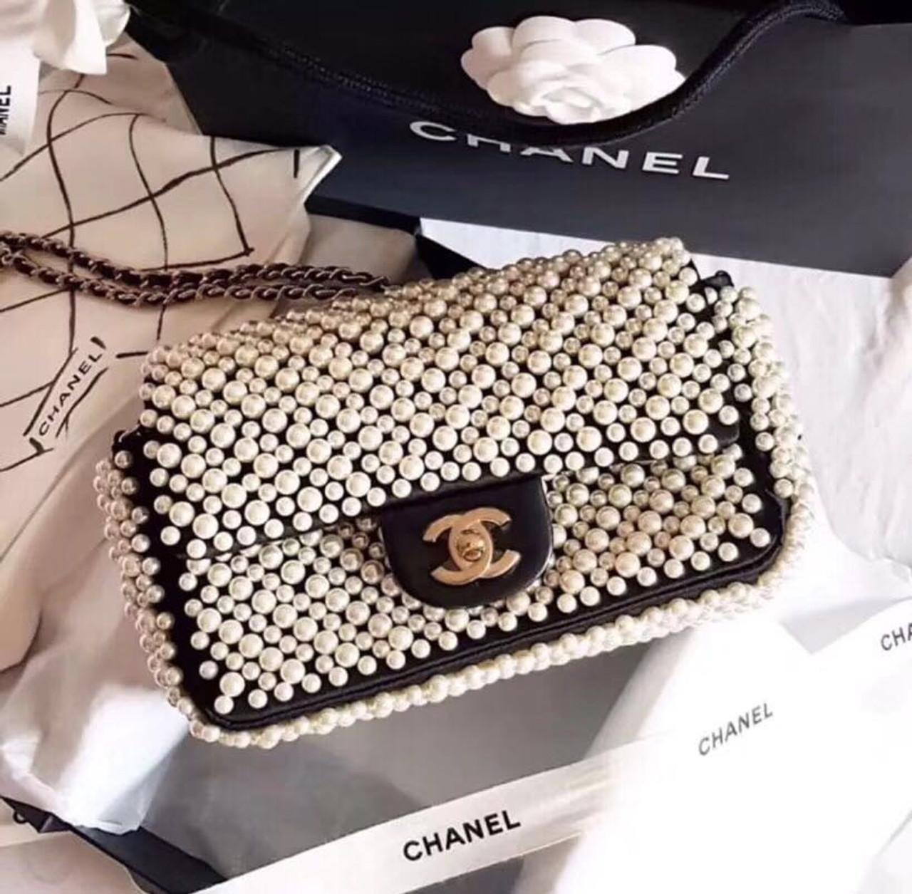 01a5a7774544 Chanel Limited Edition Pearly Flap Bag 2019 - Bella Vita Moda
