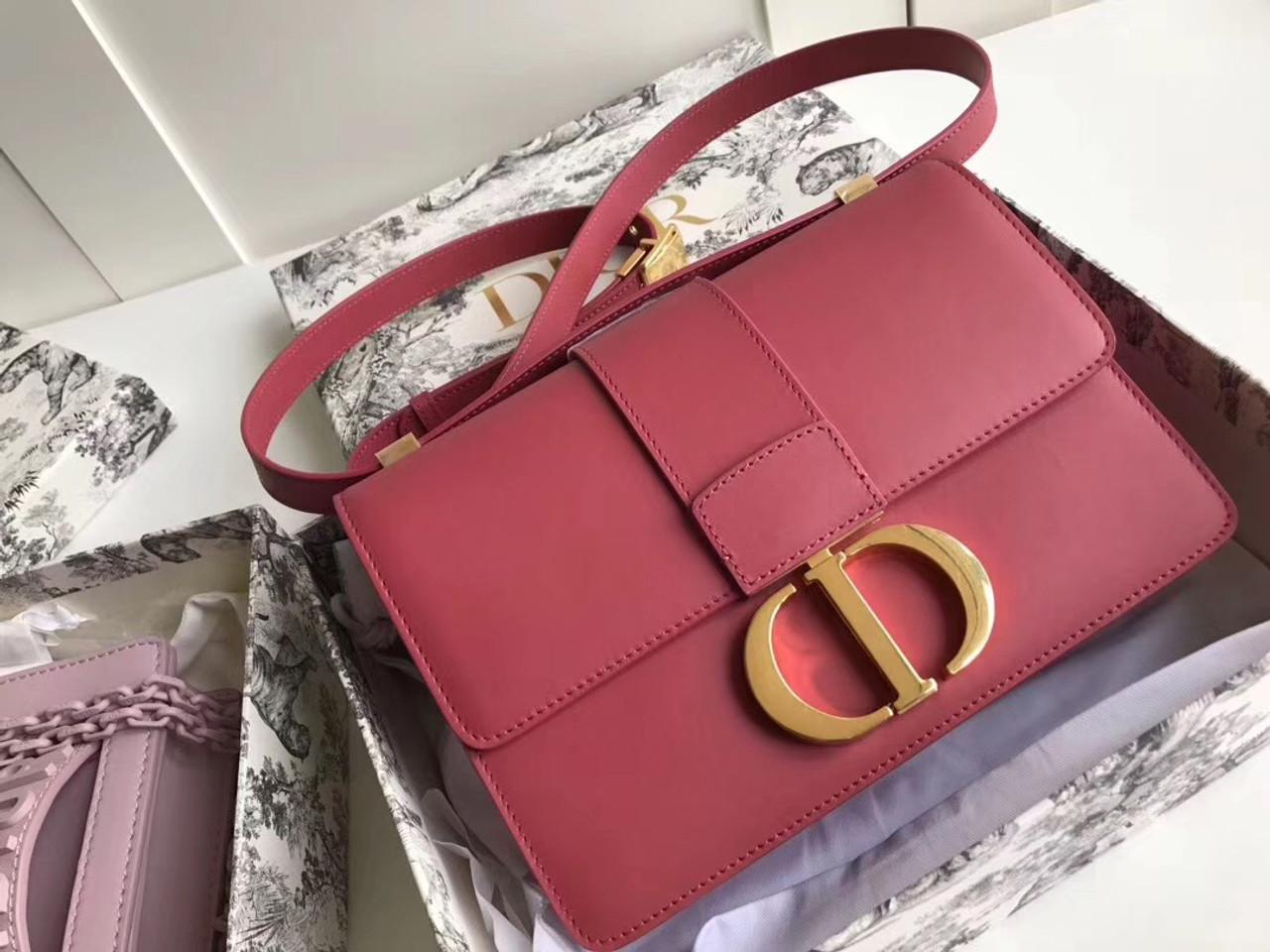 9ccfa382 Christian Dior 30 MONTAIGNE CALFSKIN BAG SIENNA