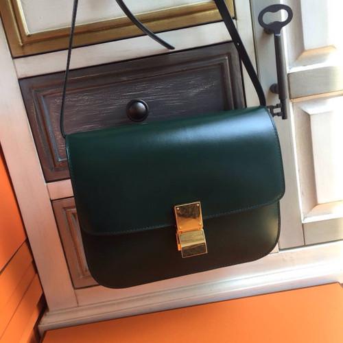 Celine MEDIUM CLASSIC BAG IN BOX CALFSKIN AMAZON - Bella Vita Moda fd247cee822da