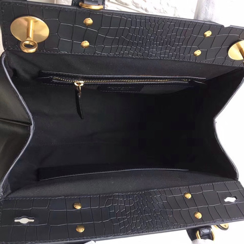 9e72773e5a82 Burberry The DK88 Luggage Bag Blue - Bella Vita Moda