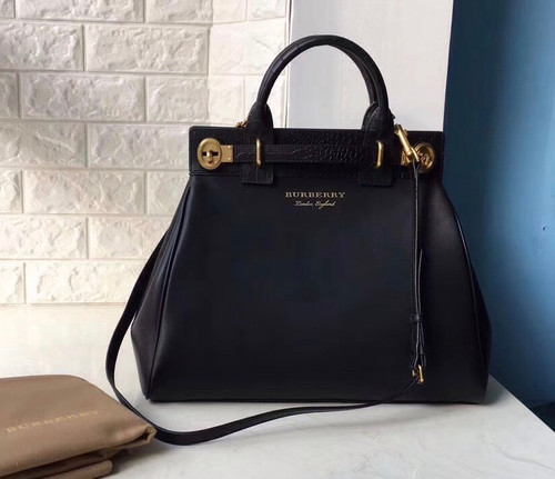 Burberry  The DK88 Luggage Bag Black