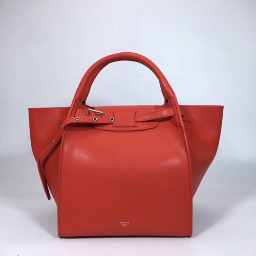 Celine MEDIUM BIG BAG IN SUPPLE GRAINED CALFSKIN CLAYCOURT - Bella ... 456349abbb15d