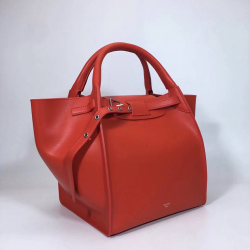 Celine MEDIUM BIG BAG IN SUPPLE GRAINED CALFSKIN CLAYCOURT