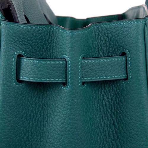f204314720fa ... Hermès Z6 Malachite Green Birkin 30 cm Togo Leather Gold Hardware ...