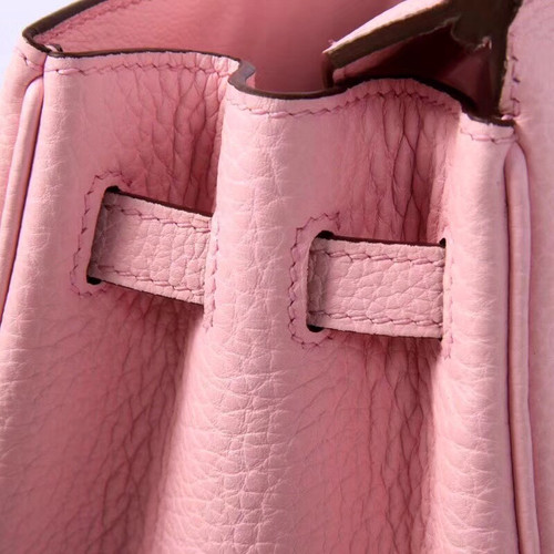 cedd8e3722 Hermès Sakura Pink Birkin 30 cm Togo Leather Gold Hardware - Bella ...