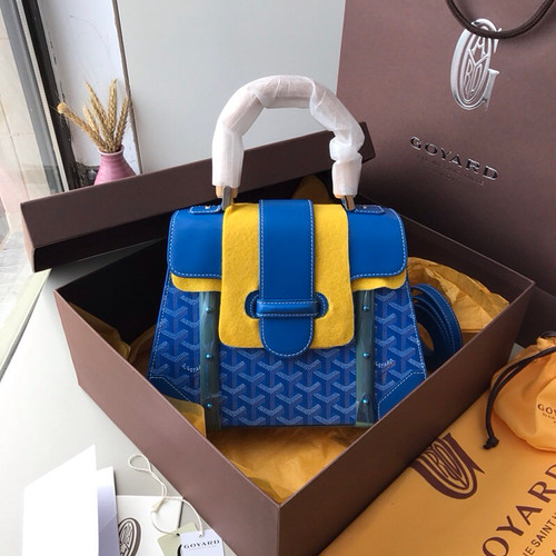 GOYARD SAIGON MM BLUE
