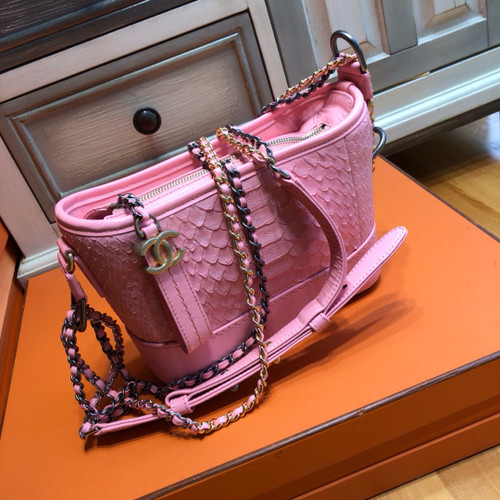 CHANEL CHANEL'S GABRIELLE Small Hobo Bag Pink