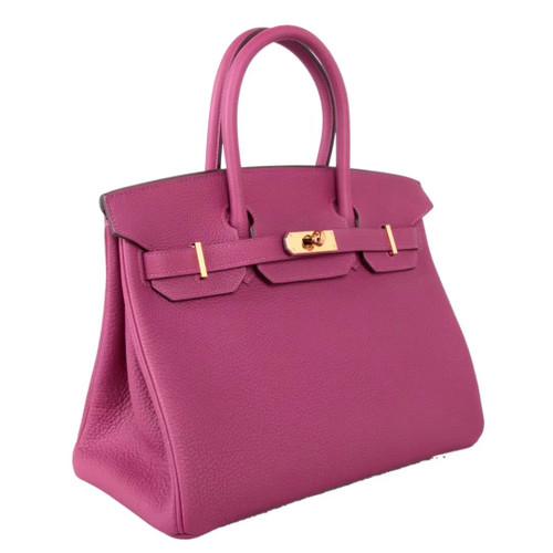 03c9aee06ea7 Hermès K5 Tosca Birkin 30 cm Togo Leather Gold Hardware - Bella Vita ...
