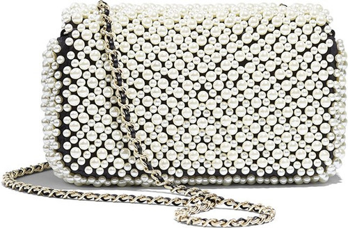Chanel Limited Edition Pearly Flap Bag 2019