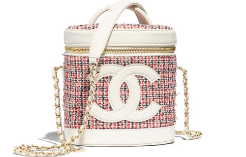 Chanel Tweed Vanity Case SS2019