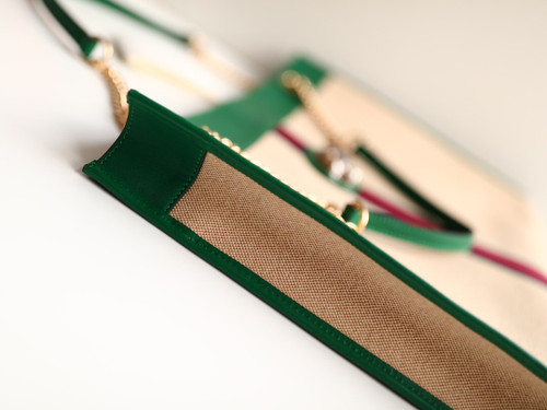 Gucci Rajah large tote Green