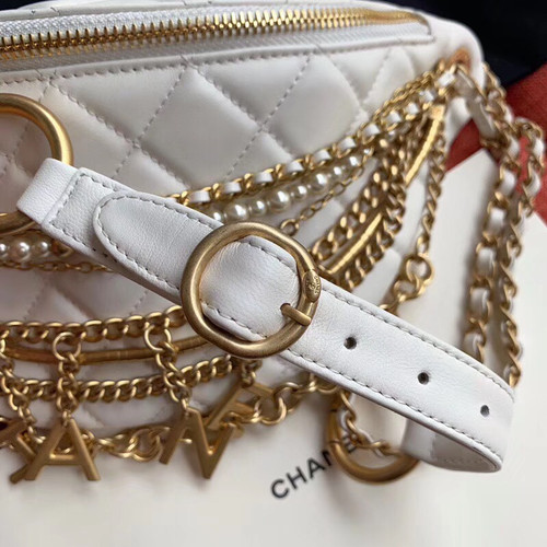Chanel Waist Bag AW2019 White