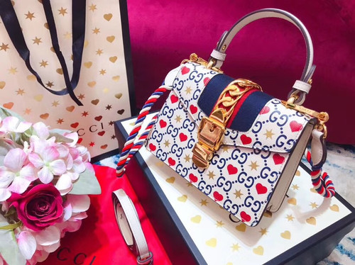 Gucci Limited Edition Chinese Valentine's Day Sylvie mini bag