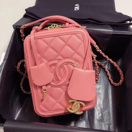 Chanel Vanity Case AS0988 Pink