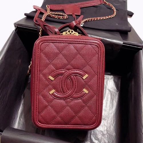 Chanel Vanity Case AS0988 Bordeaux