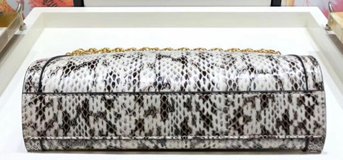 Gucci Ophidia small snakeskin shoulder bag Grey