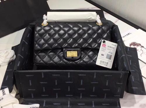 Chanel  Aged Calfskin 2.55 Handbag  GHW A37586