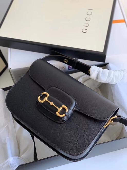 Gucci 1955 Horsebit shoulder bag Black