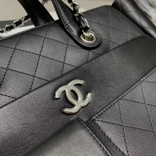 Chanel Large Zipped Tote
