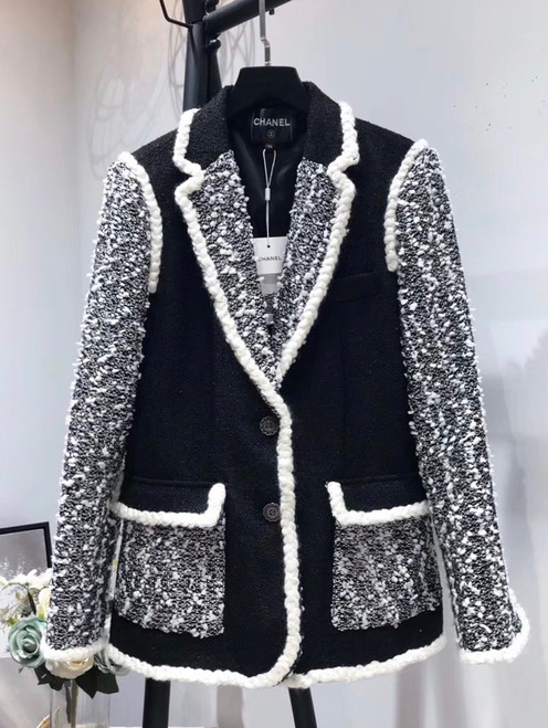 Chanel Iridescent Tweed Jacket Ready to Wear Fall/Winter 2019/20