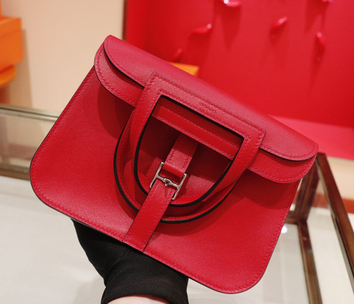 Hermes Ruby Halzan mini bag