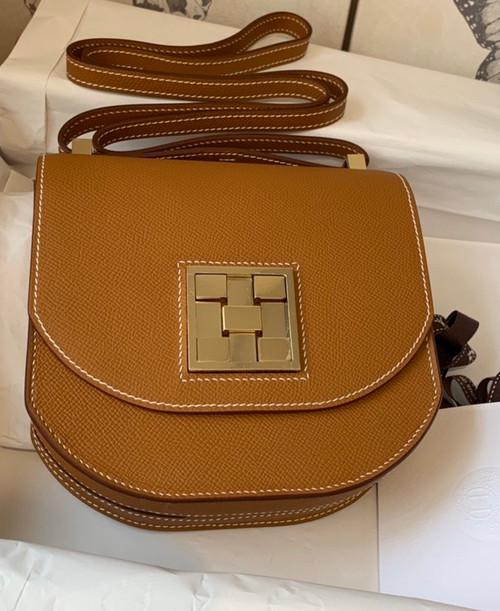 Hermes Gold Mosaique au 24 - 17 bag Gold Hardware