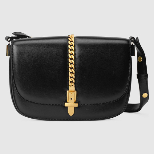 Gucci Sylvie 1969 small black shoulder bag
