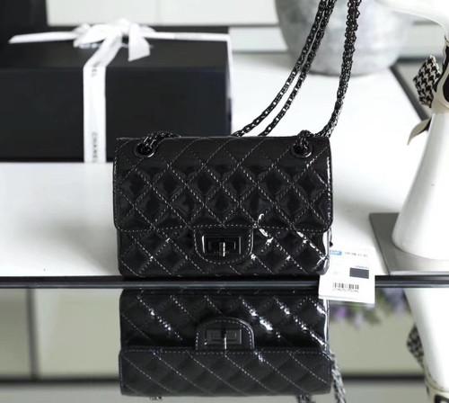 Chanel All Black Small 2.55 Handbag