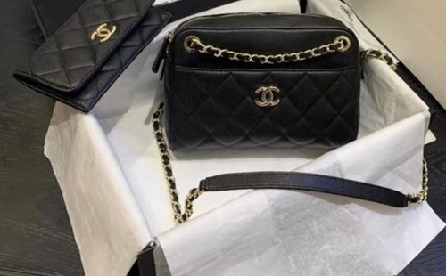 Chanel  Small Camera Case 2020 Black