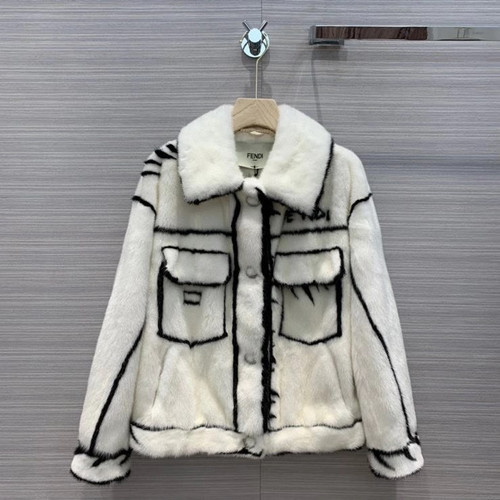 Fendi  Limited Edition Roma Joshua Vides mink coat