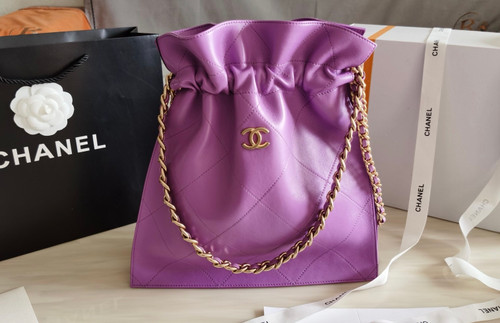 Chanel  Large Tote Purple AW 2020