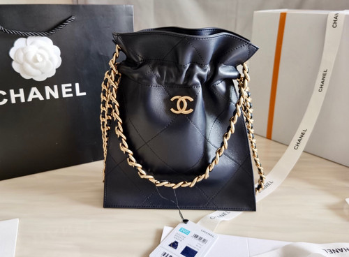 Chanel  Large Tote Blue AW 2020