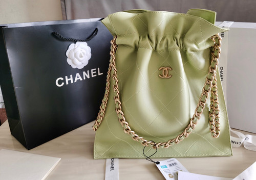 Chanel  Large Tote Green AW 2020