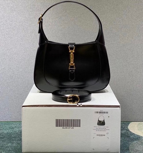 Gucci Jackie 1961 medium hobo bag Black