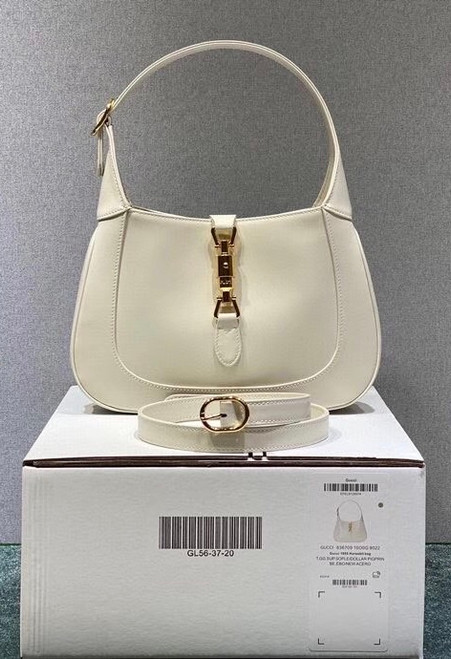 Gucci Jackie 1961 medium hobo bag White