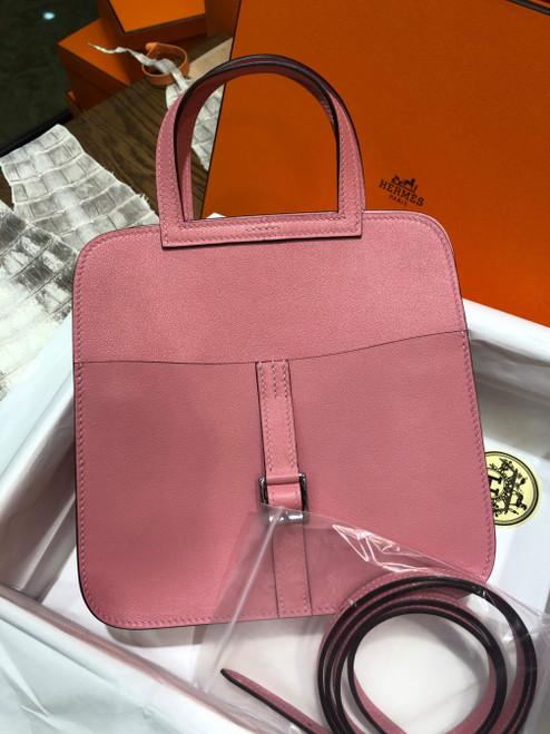 Hermes Pink Sakura Halzan mini bag