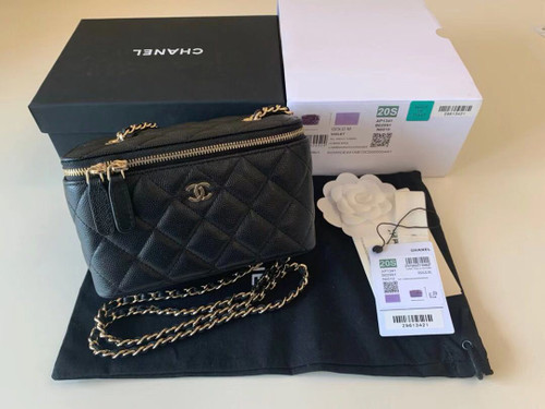 Chanel small vanity with chain AP1341