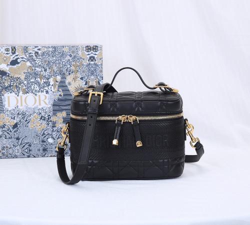 Christian Dior SMALL DIORTRAVEL VANITY CASE BLACK