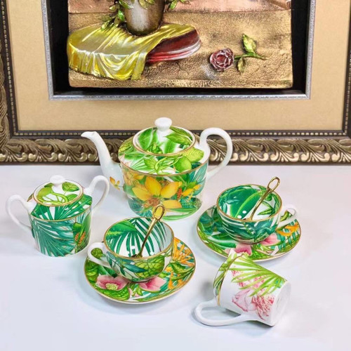 Hermes Passifolia Afternoon Tea 15 pieces Set