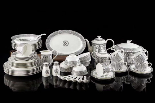 Hermes  H-Deco Hermes Porcelain 58 Piece Table Wear Set