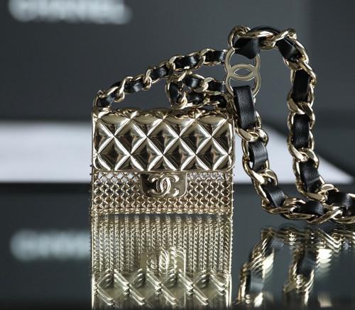 Chanel metal bag belt
